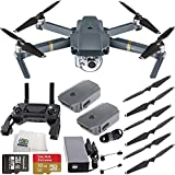 DJI Mavic Pro Quadcopter Drone w/ Manufacturer Accessories, Extra Intelligent Flight Battery, Sandisk 32GB microSDHC Memory Card, Microfiber Cleaning Cloth
