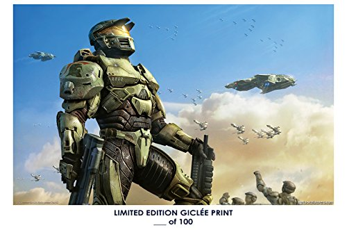 Price comparison product image RARE POSTER thick master chief HALO video game REPRINT 'd / 100!! 12x18