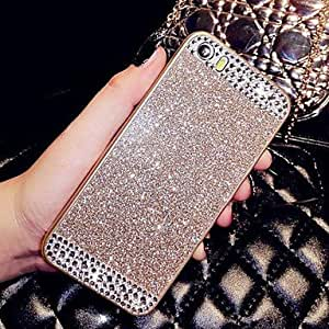 YULIN Glitter Case with Diamond for iPhone 4/4S (Assorted Colors) , White