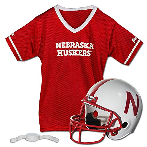 Franklin Sports NCAA Nebraska Cornhuskers Helmet and Jersey
