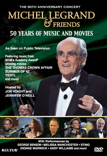 DVD : Michel Legrand - Michel LegrAnd & Friends: 50 Years of Music and Movies