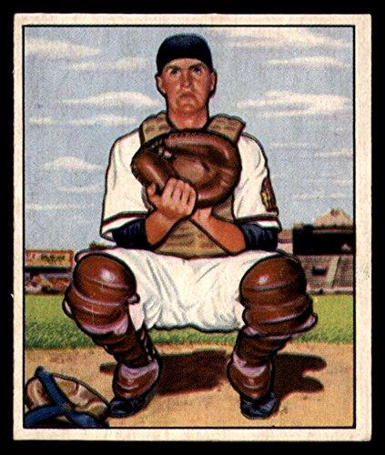 Baseball MLB 1950 Bowman #56 Del Crandall EX Excellent RC Rookie Bos Braves