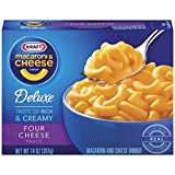 Kraft Deluxe Macaroni & Cheese With Four Cheese Sauce 14 oz