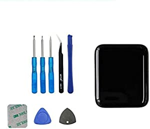 E-YIIVIIL Replacement Screen Compatible with Apple Watch Series 2nd 42mm Touch Screen Display LCD with Toolkit (2nd 42mm)