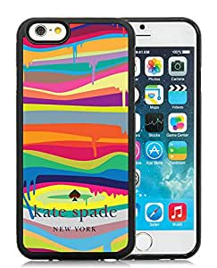 Popular Customize iPhone 6 Phone Case Kate Spade New York Unique TPU Cover Case For iPhone 6 4.7 Inch 70 Black
