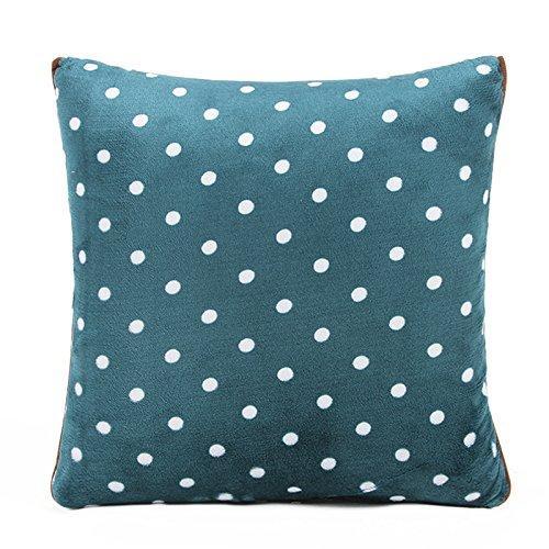 JinYiDian'Shop-couverture oreiller oreiller en pur coton avec coussin oreiller confort est de l'après-midi est le coton est un véhicule climatisé a été ,c,4040cm