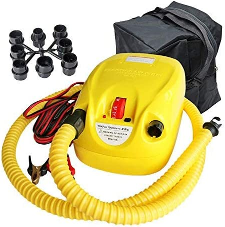 こんにちは圧力エアーポンプ、電動エアーポンプ - インフレータブル用ポータブル電動ポンプ、エアトラックポンプ、スタンドアップパドルボードポンプ、カヤックとテントポンプ