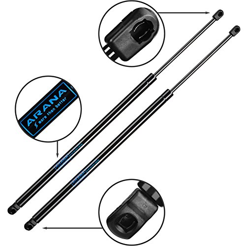 2Pcs ARANA Liftgate Lift Supports Struts Shocks for Chrysler Town & Country 2008 to 2012, Dodge Grand Caravan 2008 to 2012(With Powered Lift Gate)