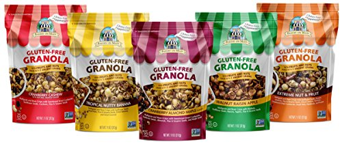 Bakery On Main Gluten-Free, Non GMO Granola, Variety Pack, 11 Ounce, 6 Count