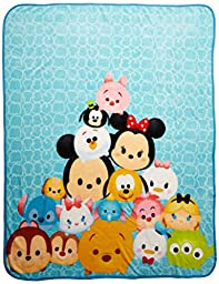 Disney Tsum Tsum \'Stack Em Up\' Plush Throw, 46\