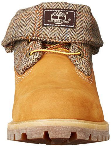 Timberland Roll Top_roll Top_roll Top F/F Af - botas de media caña con forro cálido Hombre Wheat