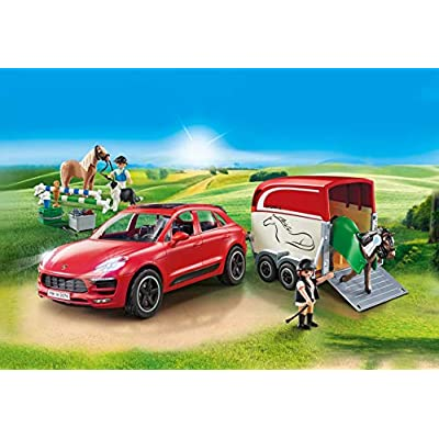 PLAYMOBIL Porsche Macan GTS: Toys & Games
