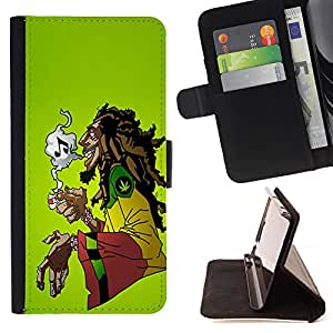 Pattern Queen - Marijuana Kush Weed - FOR Samsung Galaxy S5 Mini, SM-G800 - Hard Case Cover Shell