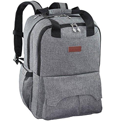 HYBLOM Diaper Bag Backpack With Baby Stroller Straps, Multi-