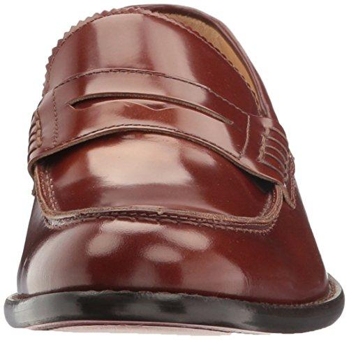 Bugatchi Mens Lombari Slip-on Loafer Marrone