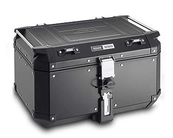 info pour vente en ligne ventes spéciales Givi OBK58B Monokey Trekker Outback Bauletto, 58Lt, Alluminio, Nero