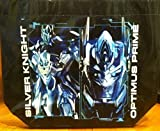 Transformers Silver Knight Optimus Prime Autobots Reusable Shopper Tote Bag 12'' x 10''