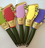 zeal spatula - Zeal Soft Silicone Flexi Spatula -- Assorted Colors -- Safe for Non-Stick Cookware