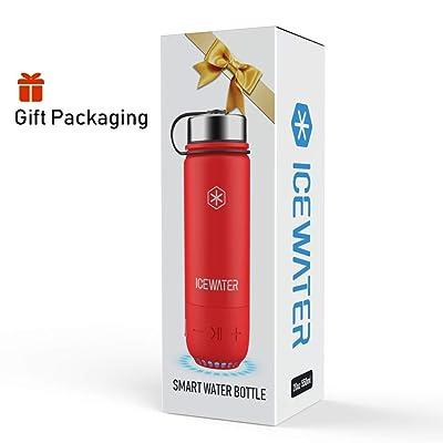 Water Bottle + Bluetooth Speaker