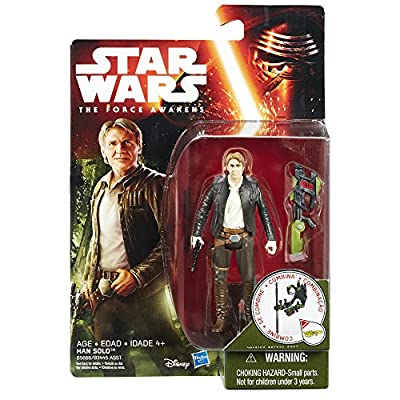 Star Wars: The Force Awakens Jungle Mission Han Solo: Toys & Games