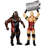 WWE Battle Pack Ryback vs. Mark Henry with Trashcan Action Figure, 2-Pack