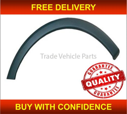 Trade Vehicle Parts OP1004 Front Wing Arch Plastic Trim Moulding Driver Side Generic