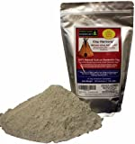 CLAY HARMONY 20 OZ Best Indian Healing Clay Sodium Bentonite (Stronger than Calcium Bentonite!) Use For Facial Masks, Bath, Foot Baths, Wraps, Poultices! Aztec Tribes Used Clay As Secret Detox!