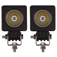 "Senzeal 2x 2"" 10W Cree LED Work Light 12V Square LED Spot Beam Motorcycle Fog Lights Tractor Offroad Work Light Bar For Trucks"