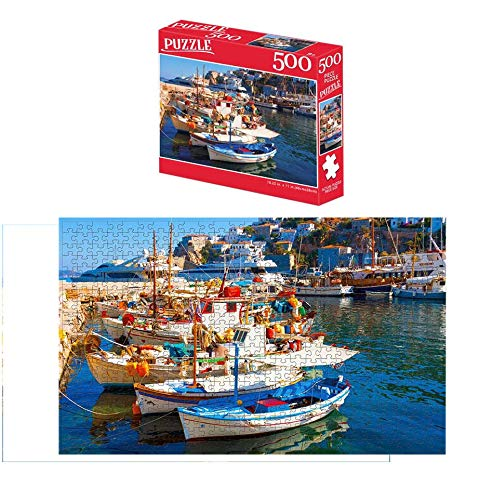 500 Piece Large Jigsaw Puzzle for Adults Kids
