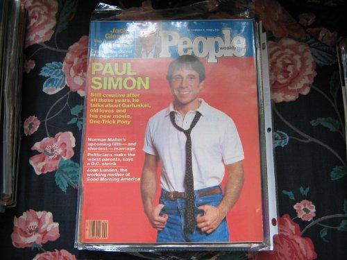 People Weekly (PAUL SIMON...Garfunkel...One-Trick Pony , Jackie Gleason , Norman Mailer , Joan Lunden, Novemnber 3, 1980)