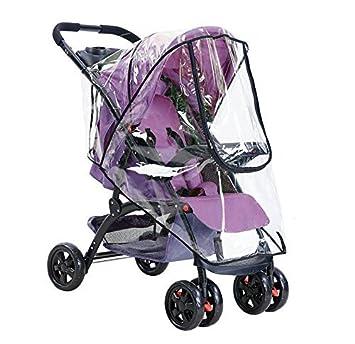 Funda universal cochecito bebé impermeable resistente polvo resistental viento cochecito bebé manta grande sobre lluvia paraguas toldo puerta cremallera ...