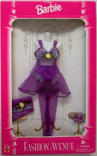 Barbie Fashion Avenue 1995 Purple Lingerie 14291