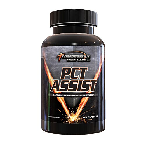 Pct Assist (PCT Assist by CEL ( Competitive Edge Labs ): All-In-One Post Cycle Therapy Supplement - Increase Natural Testosterone Levels. 120 Caps)