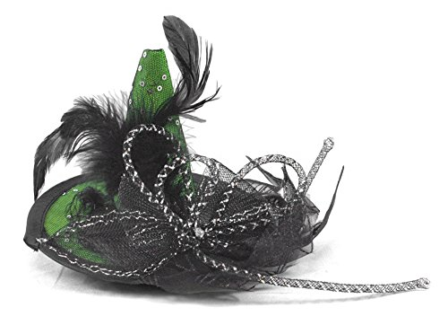 Witch Hat Green Clip-on Halloween Decoration (Hocus Pocus Witch Childrens Costume)