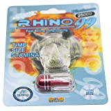 #2: Rhino Pills for Men by Rhino | Male Enhancement Pills | Fast Acting | Rhino 99 MAXXX 6 Packs (6 Pills)