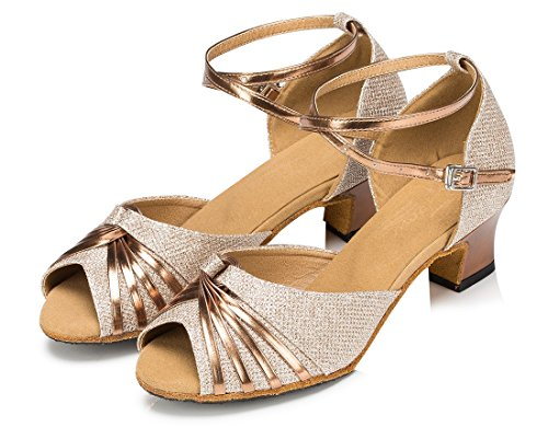 TDA - Zapatos de tacón  mujer 4.5cm Heel Gold