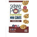SkinnyPop Mini Popcorn Cakes, Cinnamon and Sugar, 5 Ounce