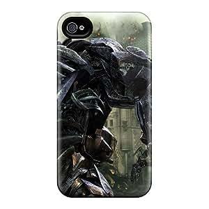 Excellent Design Shockwave In Transformers 3 Phone Case For Iphone 5/5s Premium Tpu Case