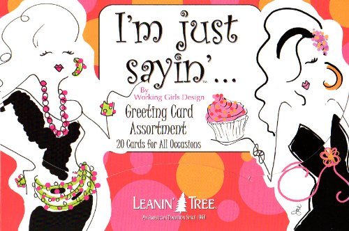 I'm Just Sayin' by Working Girl Design - [AST90746] 20 Greeting Cards and 22 Envelopes