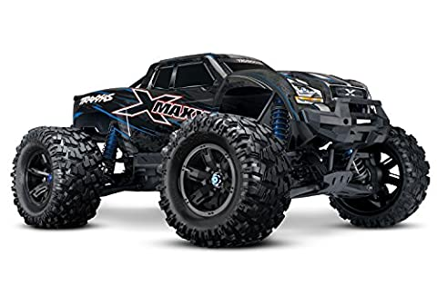 Traxxas 8S X-Maxx 4WD Brushless Electric Monster RTR Truck, Blue - Performance Brushless System