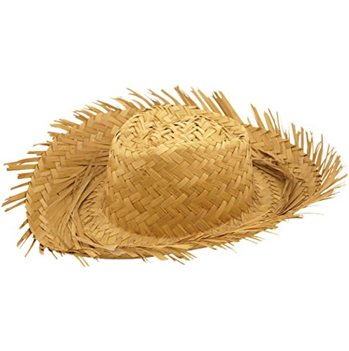 Rimi Hanger Mens Male Straw Beachcomber Hat Gents