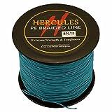 HERCULES 300m 328yds Blue 10lbs-300lbs Pe Braid Fishing Line 8 Strands (300lb/136.1kg 1.20mm)