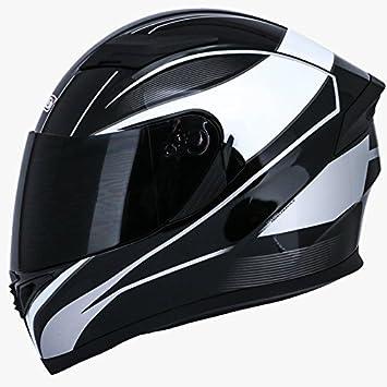 HRO 514 profesional Motorcycle Racing Casco. 2 viseras – diseño elegante – proteger su vida