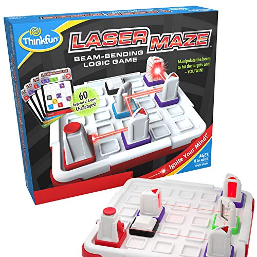 ThinkFun Laser Maze (Class 1) Logic Game and STEM Toy for Boys and Girls Age 8 and Up - Award Winning Game for Kids