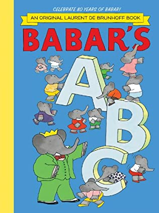 book cover of Babar\'s A. B. C