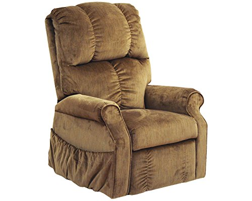 (Catnapper Power Lift Chair Recliner with Comfort Coil Seating - Soft and durable polyester fabric - Transitional tufted back design (Havana) - Weight Capacity 350 lb)