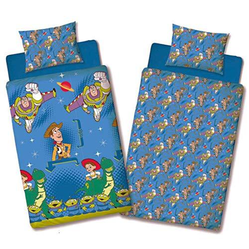 (Single Duvet) - Disney Toy Story 'Friends' Single/Double Duvet Cover Reversible Bedding Set (Single Duvet)'
