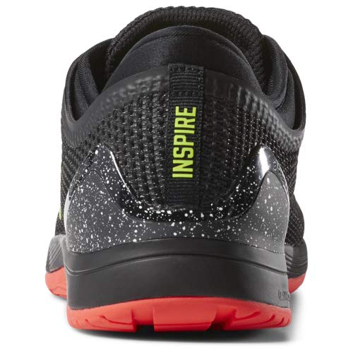 Reebok Men's CROSSFIT Nano 8.0 Flexweave Cross Trainer, Black/Neon Red/Neon Lime/White, 6.5 M US by Reebok (Image #8)
