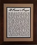 A Parent's Prayer - Framed Inspirational Blessing - Baby Gift for Twins or Multiple Children (Personalization Available)