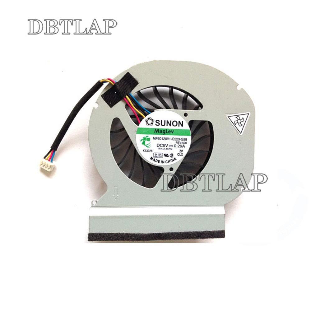 DBTLAP CPU Cooling Fan Compatible for Dell Latitude E6420 MF60120V1-C220-G99 CPU Fan